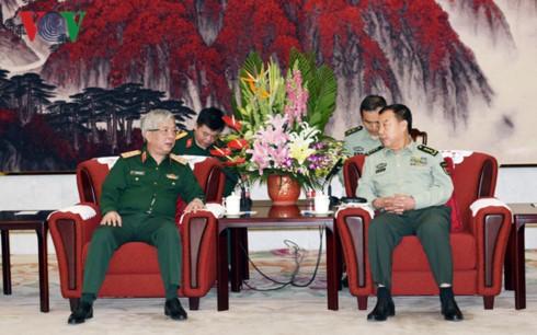 中共中央军委副主席会见阮志咏上将 - ảnh 1