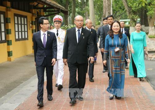 缅甸联邦议会议长曼温凯丹圆满结束访越行程 - ảnh 1