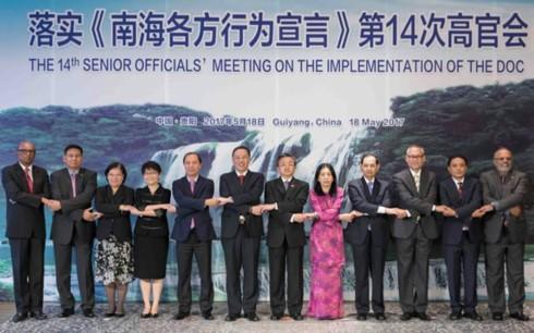 东盟国家和中国举行落实《东海各方行为宣言》第14次高官会 - ảnh 1