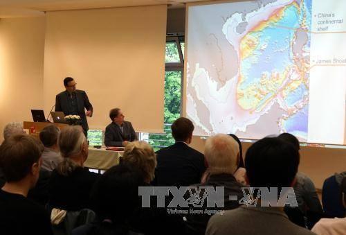 有关东海的国际研讨会在德国举行 - ảnh 1