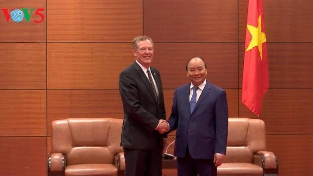 阮春福会见APEC一些成员经济体代表 - ảnh 1