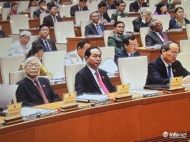 越南国会就《中小型企业扶持法(草案)》进行第二次讨论 - ảnh 1