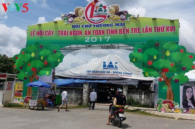 2017年美味安全果树和水果节在槟知省举行 - ảnh 1