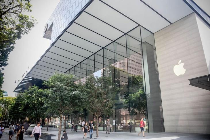 东南亚首家苹果专卖店在新加坡正式开业 - ảnh 1