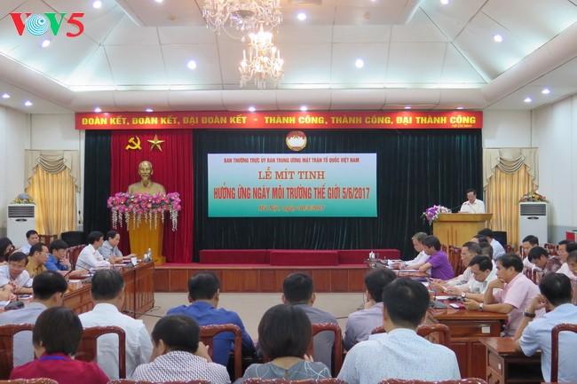 越南响应2017年世界环境日 - ảnh 1
