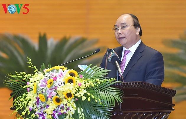阮春福:在新形势下继续有效开展保卫祖国战略 - ảnh 1