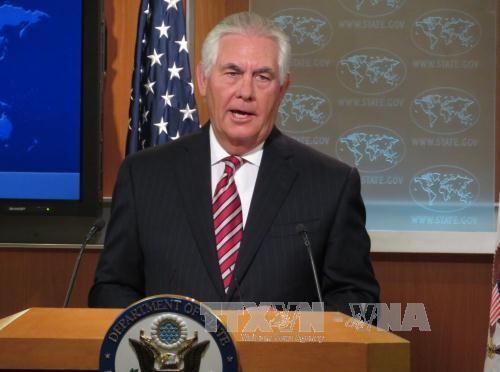 美国坚持寻求和平方式解决朝鲜半岛核问题 - ảnh 1