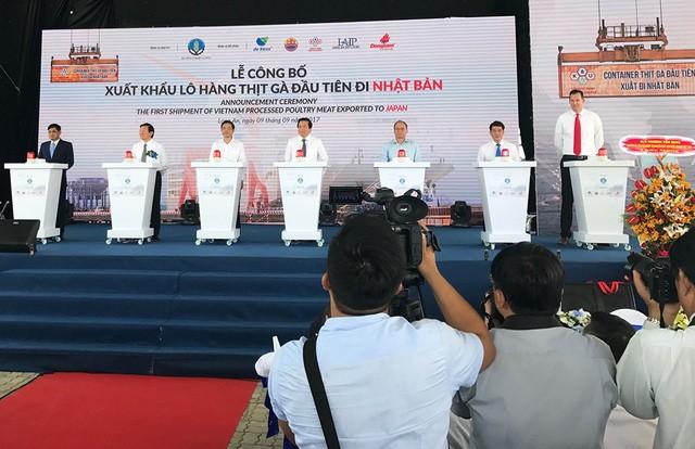 越南向日本市场出口第一批鸡肉 - ảnh 1
