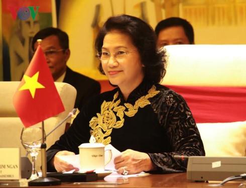 阮氏金银出席在俄罗斯举行的议联第137届大会并对哈萨克斯坦进行正式访问 - ảnh 1