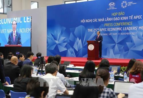 APEC第25次领导人非正式会议通过岘港宣言 - ảnh 1
