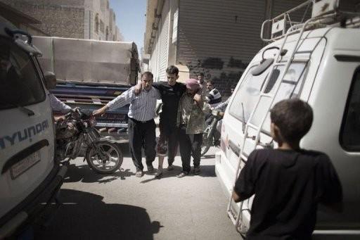 Syrie: intenses bombardements au lendemain de la rencontre Assad/Brahimi - ảnh 1