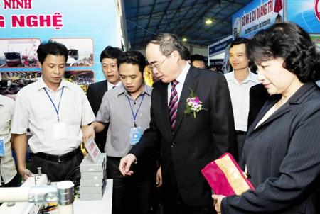 Hanoi: Ouverture de la Foire internationales des technologies et des équipements - ảnh 1