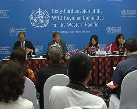 Ouverture de la 63ème conférence de l'OMS pour le Pacifique occidental - ảnh 1