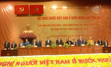 Clôture de la conférence consacrée à la communauté vietnamienne de l'étranger  - ảnh 1