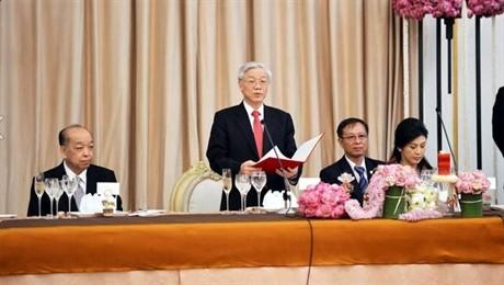 L'opinion publique thailandaise salue la visite de Nguyen Phu Trong - ảnh 1