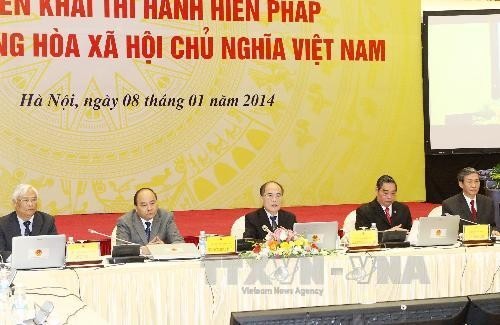 Implementing new Constitution  - ảnh 1