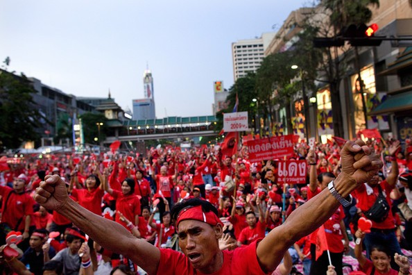 "Red-Shirt protestors to counter ""occupy Bangkok"" plan - ảnh 1"