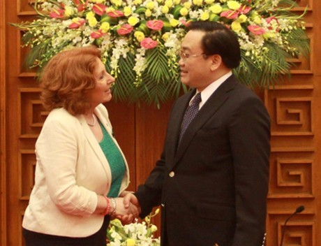 Ireland's Minister of State visits Vietnam  - ảnh 1