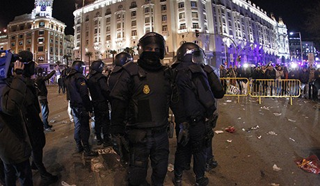 Spain: March against austerity plans turns violent  - ảnh 1