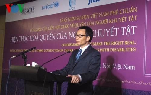 Vietnam facilitates Persons with Disabilities to integrate into ceremony - ảnh 1