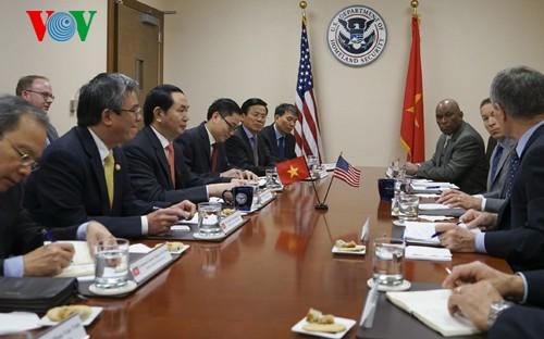 Vietnam, US enhance security, judicial cooperation - ảnh 2