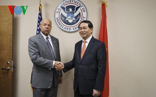Vietnam, US enhance security, judicial cooperation - ảnh 1
