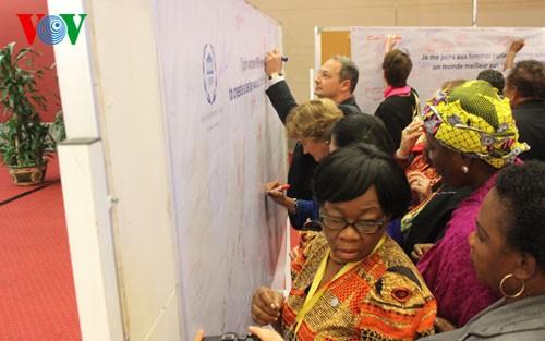 Foreign delegates appreciate discussions at IPU 132 - ảnh 1