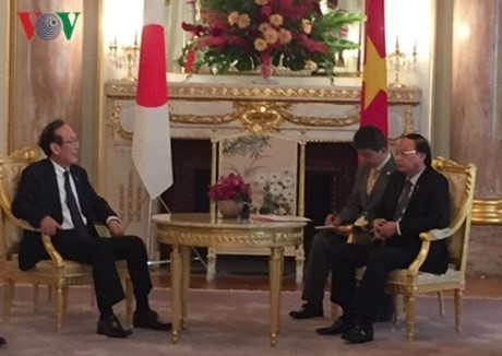Vietnamese official greets Japanese Credit Saison leader - ảnh 1