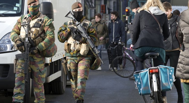 Belgium increases security forces in Brussels  - ảnh 1