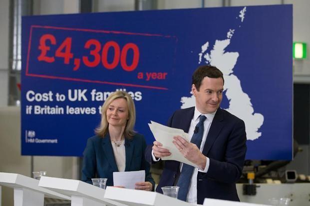 British Treasury estimates Brexit impacts on its economy - ảnh 1