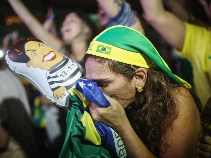 Political turmoil in Brazil - ảnh 1