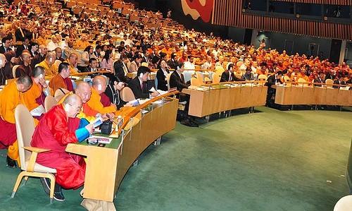 UN General Assembly holds International Day of Vesak celebration - ảnh 1