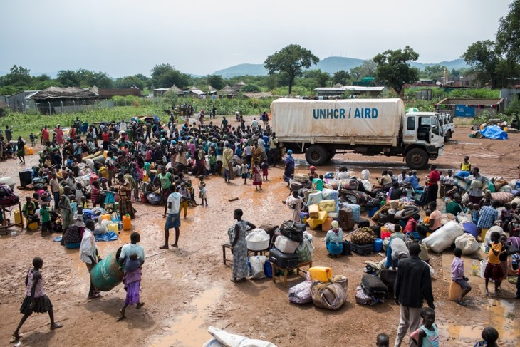 UNHCR: nearly 900,000 flee South Sudan - ảnh 1