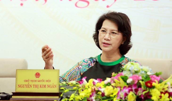 14th NA pledges to fulfill its legislative function  - ảnh 1