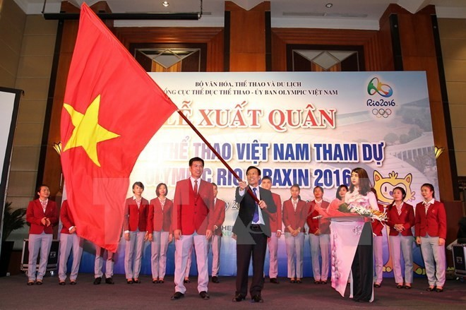 Vietnam's athletes ready to compete at Olympics 2016 - ảnh 1