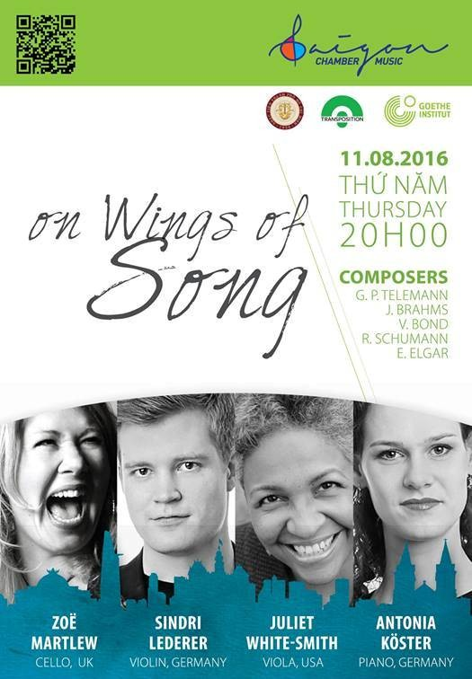 Saigon Chamber Music 2016 festival begins - ảnh 1