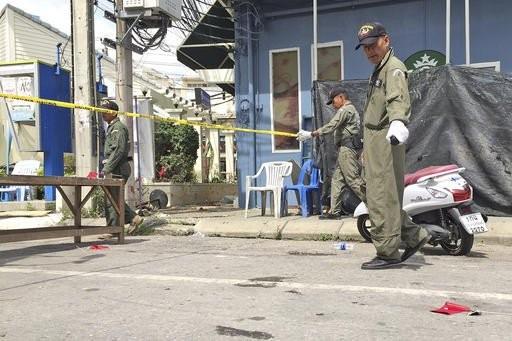 Thai police identify one mastermind of bombings - ảnh 1