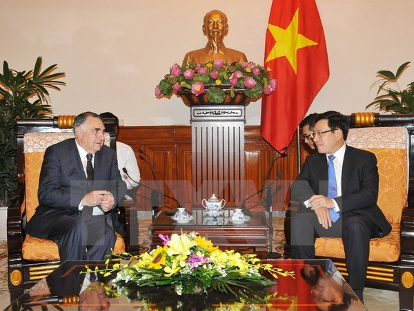 Vietnam, Chile conclude political consultation of deputy foreign ministers - ảnh 1