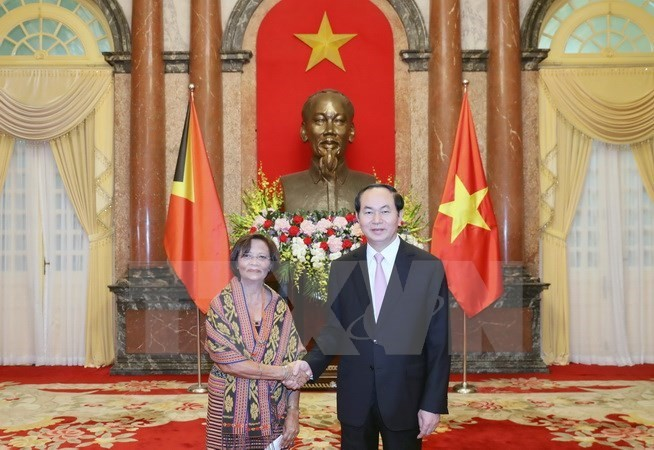 President received new foreign ambassadors  - ảnh 1