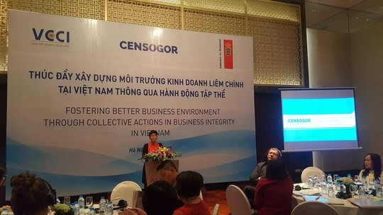 Vietnam promotes an incorruptible business environment  - ảnh 1