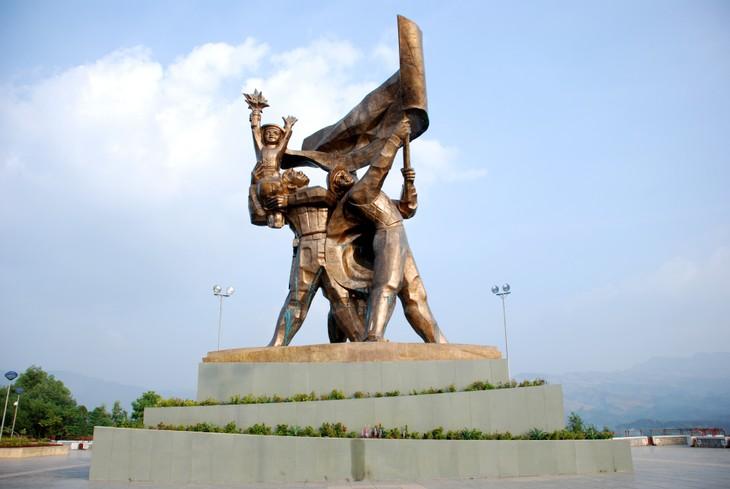 May in Dien Bien Phu Victory relic site - ảnh 1