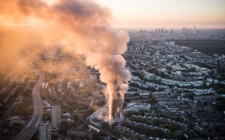 Death toll in London blaze confirmed - ảnh 1
