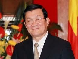 Presiden Vietnam Truong Tan sang menerima Dirjen FAO Jose Graziano da Silva - ảnh 1