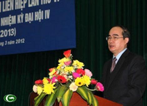 Konferensi ke-6 Presidium Gabungan Asosiasi Persahabatan Vietnam angkatan ke-4 - ảnh 2