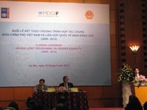 PBB menilai tinggi kesetaraan gender di Vietnam - ảnh 1