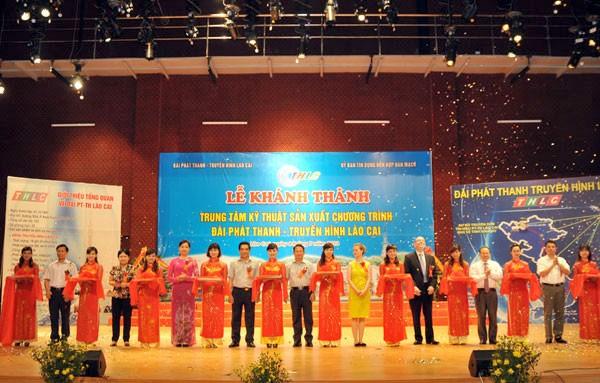 Pusat Teknik produksi program siaran – televisi yang paling modern di daerah Vietnam Utara mulai beraktivitas - ảnh 1