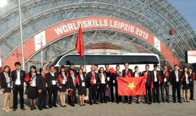 Vietnam merebut 7 sertifikat dalam Kontes Ketrampilan Sedunia ke-42 - ảnh 1