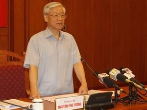 Sidang ke-3 Badan Pengarahan Sentral tentang pencegahan dan pemberantasan korupsi - ảnh 1