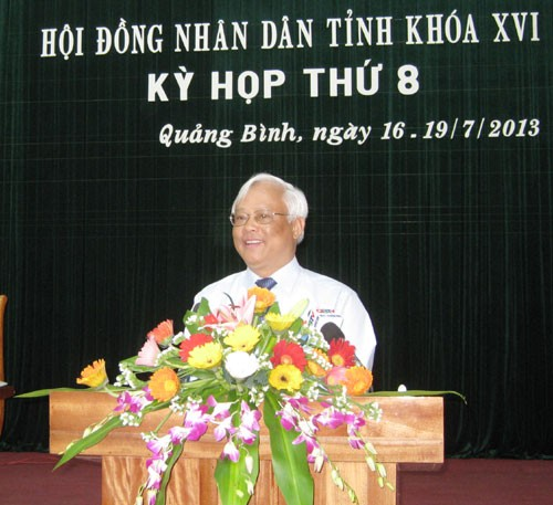 Persidangan ke-8 Dewan Rakyat provinsi Quang Binh - ảnh 1