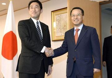 Jepang dan Republik Korea berusaha memperbaiki hubungan bilateral - ảnh 1